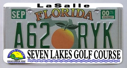 Print ready clear license plate holder fits all 50 state plates (1 inventory item)